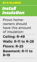 Increasing Insulation